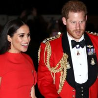 Meghan Markle paralyzes in ravishing red gown worth Rs 1.2 lakh at a music festival